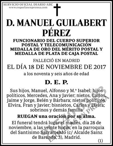 Manuel Guilabert Pérez